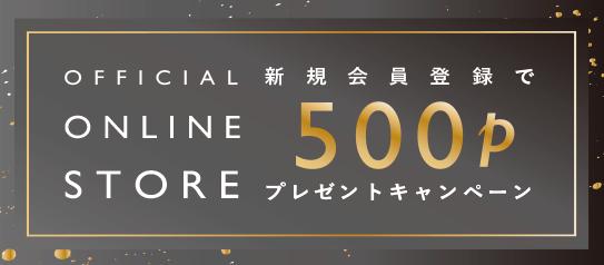 今すぐ使える 500Pプレゼント